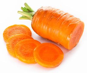 Fresh carrot.