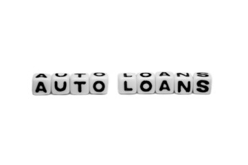 Auto loans with simple text