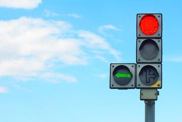 Fotomurales - traffic light