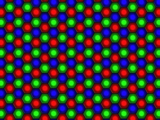 Lcd-sensor array - RGB