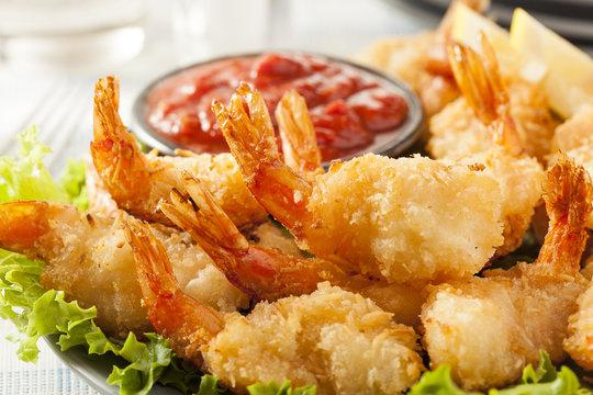 Fried Organic Coconut Shrimp