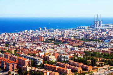 mediterranean city. Badalona, Catalonia