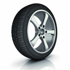 Automobile winter tire.
