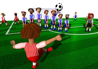 Fußball - Direkter Freistoß