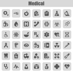 medical iconset