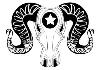 Bull tattoos.