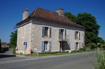 フランス、ミディピレネー地方の家