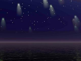 Comets - 3D render