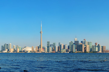Fotobehang Toronto Toronto skyline in the day