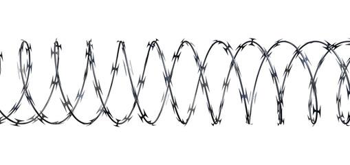 Razor Wire Front