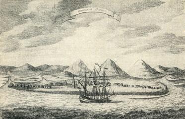 Okhotsk harbour (History of Kamtschatka, 1755)