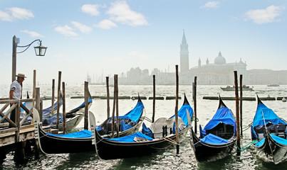 Grand Canal  in Venice.