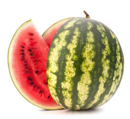 Sliced ripe watermelon