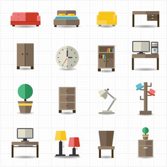 Home and office furniture interiors