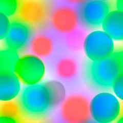 Seamless colorful pattern with circles, vector Eps10 image.