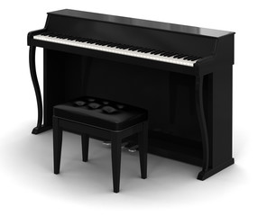 Piano (clipping path included)