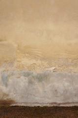 Wall Mural - Neutraler Hintergrund mit nassem Boden
