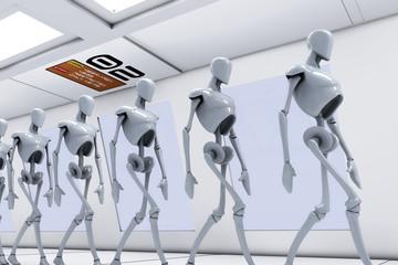 Scifi humanoid