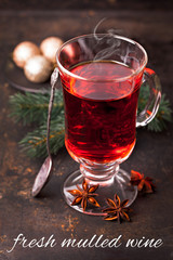 fresh mulled wine