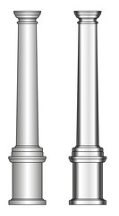 greece column model