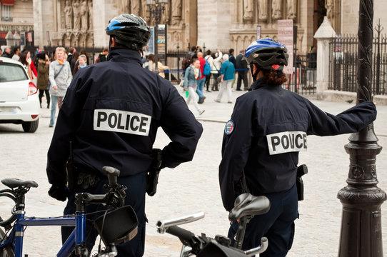 police VTT Notre-Dame de Paris