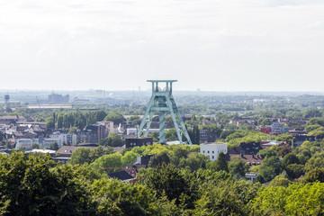 Blick auf Bochum - DBM mit dem Förderturm