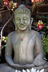 Statue of Buddha in Phnom Pehn, Cambodia