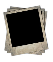 Retro photo frames