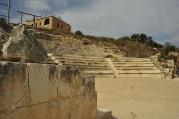 Roman theater at Zippori National Park
