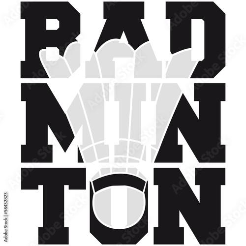 """Badminton Logo Design"" Stock photo and royalty-free"