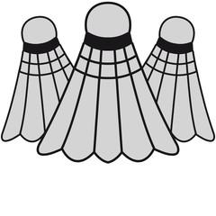 3 Badmintons
