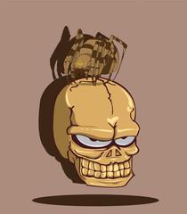 skull. Vector