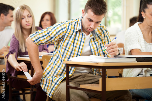 cheating students Cheating is rampant in our high schools and colleges get an in-depth look at three reasons why students cheat, and how it can be stopped.
