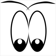 глаза часть лица непонимание