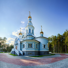 The church of the Blessed Virgin Mary