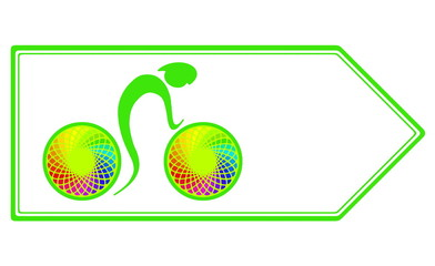 Cycling sport and recreation, healthy way of life