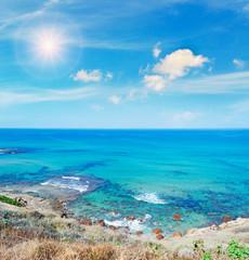 Lu Bagnu shore