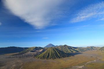 Bromo Volcano Mountain in Tengger Semeru National Park