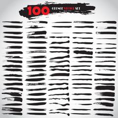 Black Grunge Vector Set 100 Grunge Texture Grunge Background