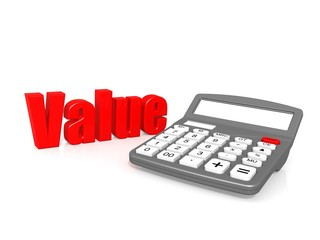 Value with calculator