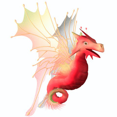 Cranberry Faerie Dragon