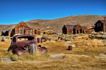 Bodie, ghost town 02 Wall mural