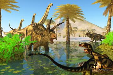 Cretaceous Swamp