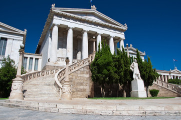 The National Library of Greece.