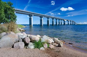 Coast panorama for Oland's bridge