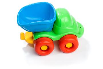 Toy plastic truck