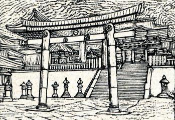 Nikkō Tōshō-gū, Shinto shrine (Nikkō, Japan)