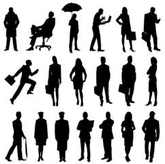 Obraz people biznes - fototapety do salonu