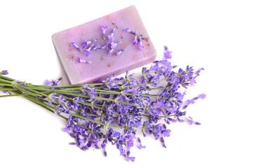 Wall Mural - Lavender soap