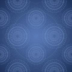 Grunge lace ornament. Seamless pattern.